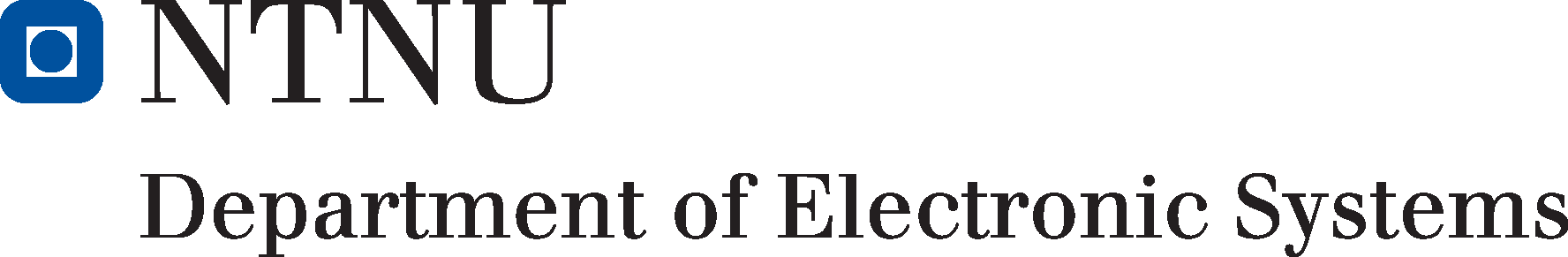 Logo for Dept. of Electronic Systems, NTNU
