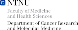 Logo for Dept. of Cancer Research and Molecular Medicine, NTNU